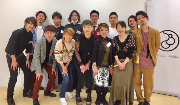 ステップ ボーン カット 創始者SAYURI による講師コースが開催されました!