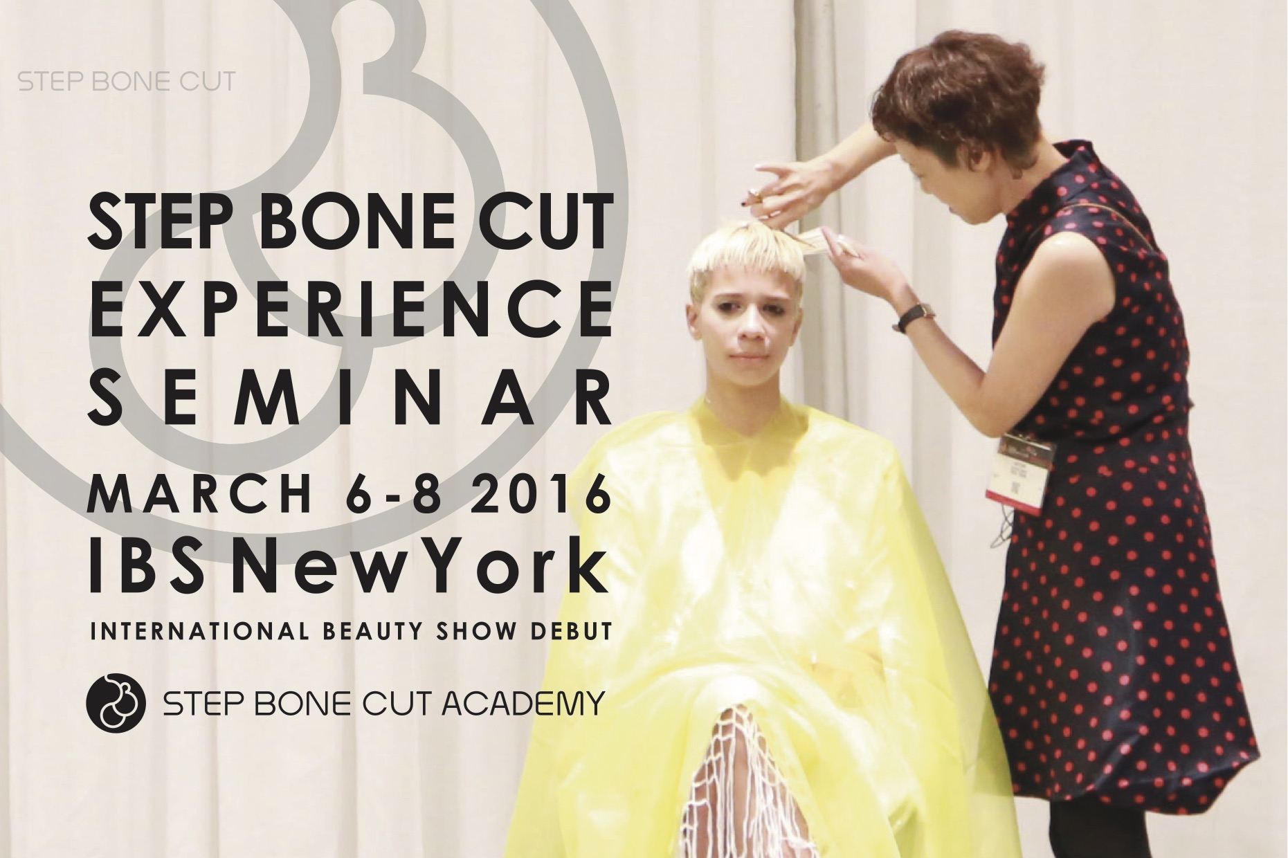 写真:STEP BONE CUT EXPERIENCE SEMINAR IBS NEW YORK  REPORT