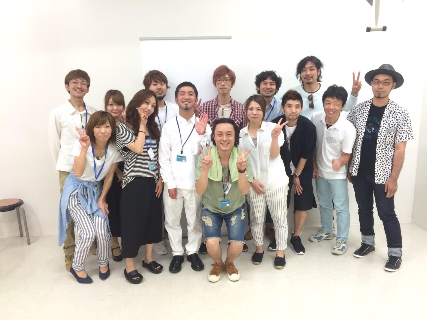 写真:2016 7/11  ステップボーンカット東京テクニックコース